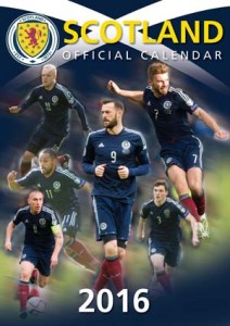 Scotland International Football Official Calendar 2016
