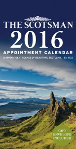 The Scotsman Appointment Calendar 2016