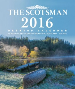 The Scotsman Desktop Calendar 2016