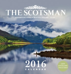 The Scotsman Wall Calendar 2016