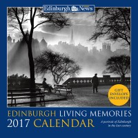 Edinburgh Living Memories Calendar 2016  £5.99