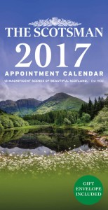 The Scotsman Appointment Calendar 2017