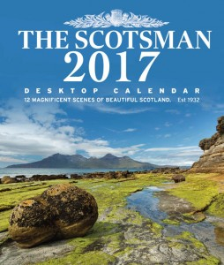The Scotsman Desktop Calendar 2017