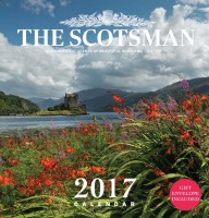 The Scotsman Wall Calendar 2017   £6.99