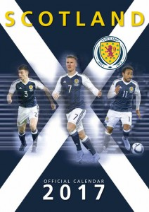 Scotland International Football Official Calendar 2017