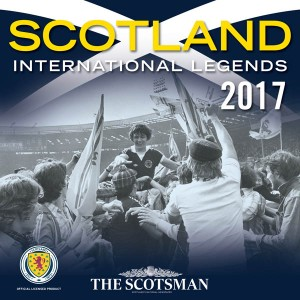 Scotland International Football Legends Official Calendar 2017