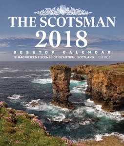 The Scotsman Desktop Calendar 2018