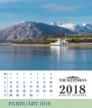 Scotsman Desktop Calendar page example