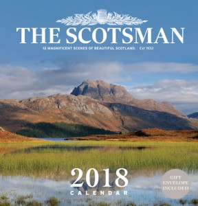 The Scotsman Wall Calendar 2018
